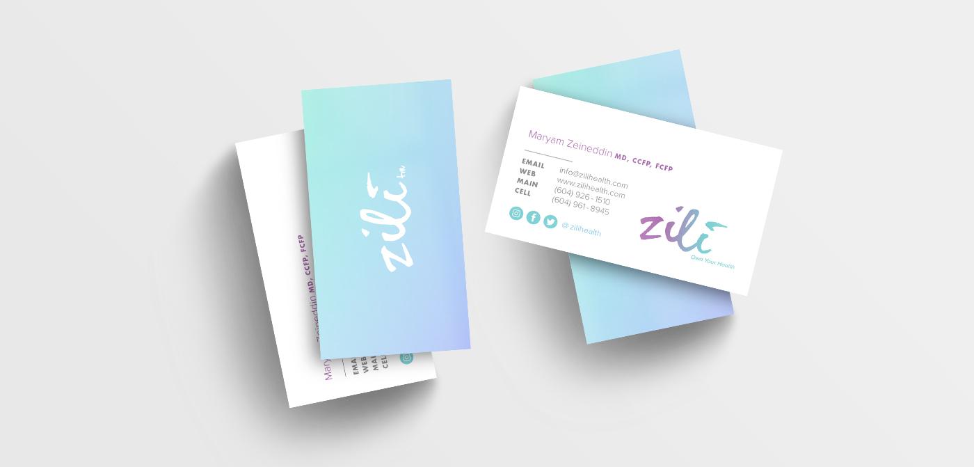 logo business card Website Mobile app conference healthcare vancouver Freelance