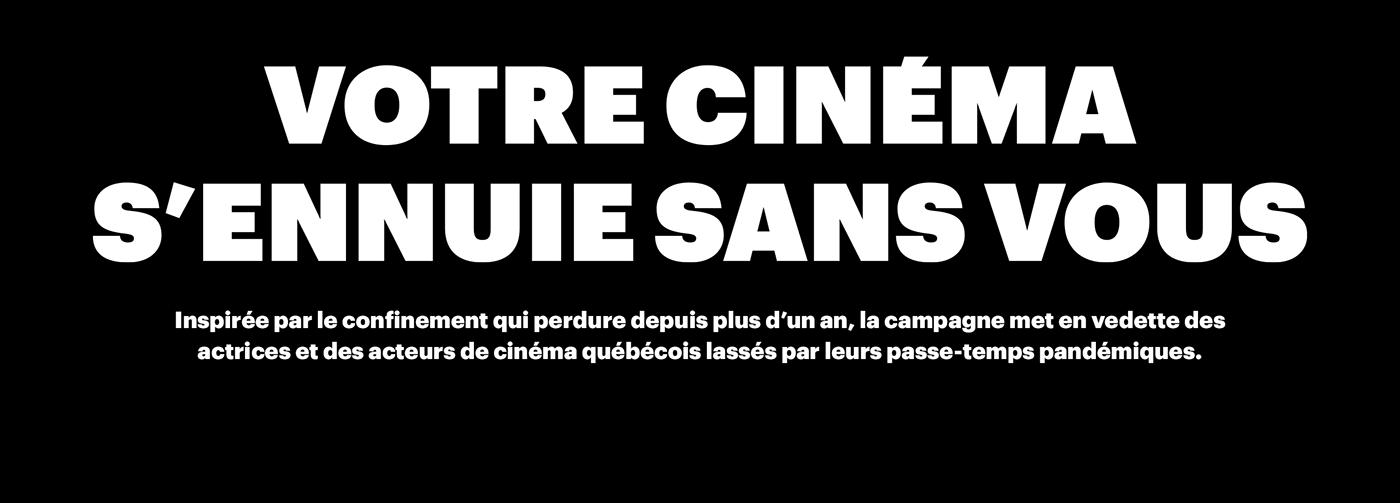 Cinema Movies Quebec rdvqc rendez-vous HOBBIES Hobby pandemic pandemie passe-temps