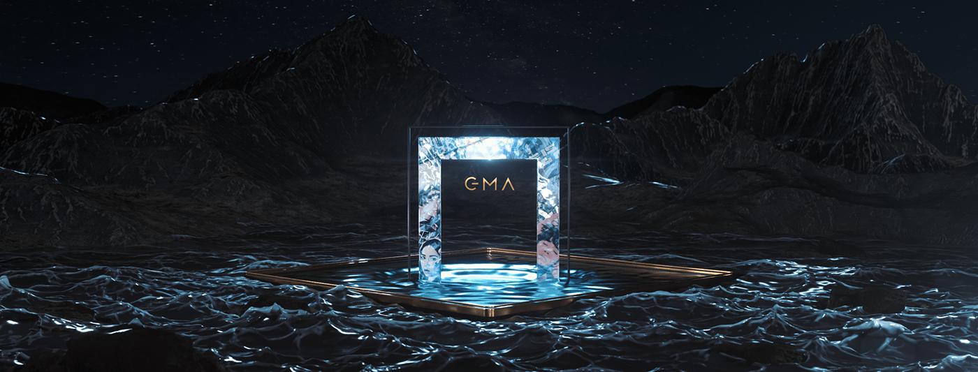 3D award c4d design GMA golden motion music 金曲 金曲獎