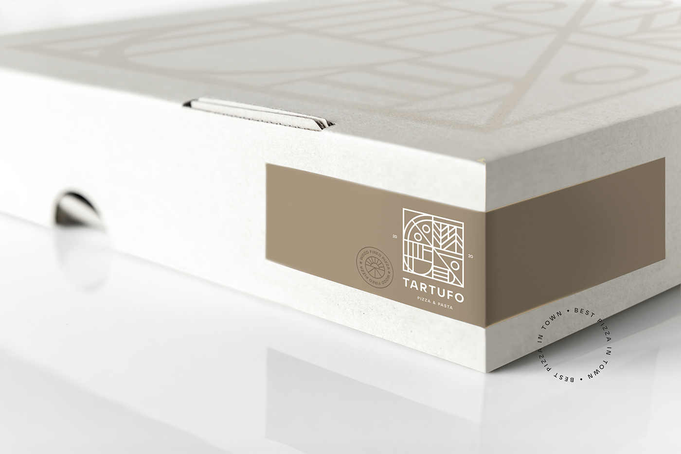 AGRAFIX branding  logo logodesign Logotype Packaging packagingdesign pizzalogo pizzaria tartufo