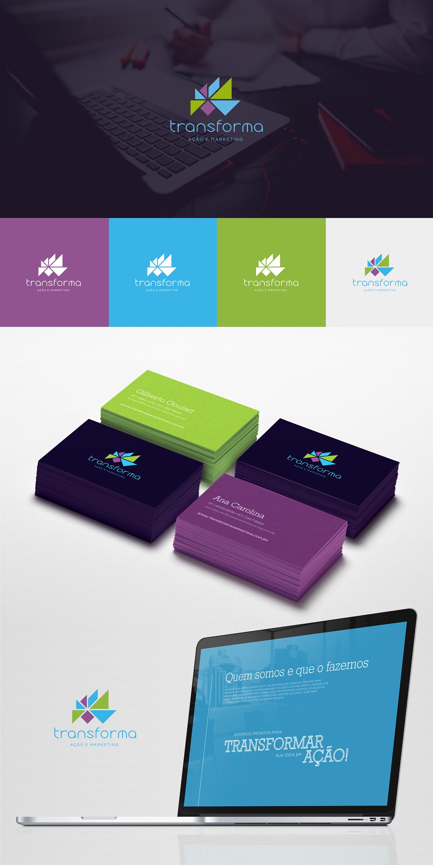 marketing   ação eventos tangram colors brand