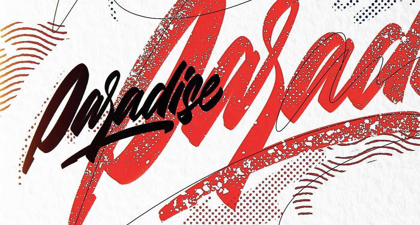 iPad lettering Calligraphy   procreate app Handlettering digital illustration