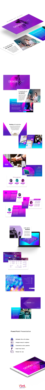 free power point template freebie design light ppt slides free download presentation gradient style Bright Ideas