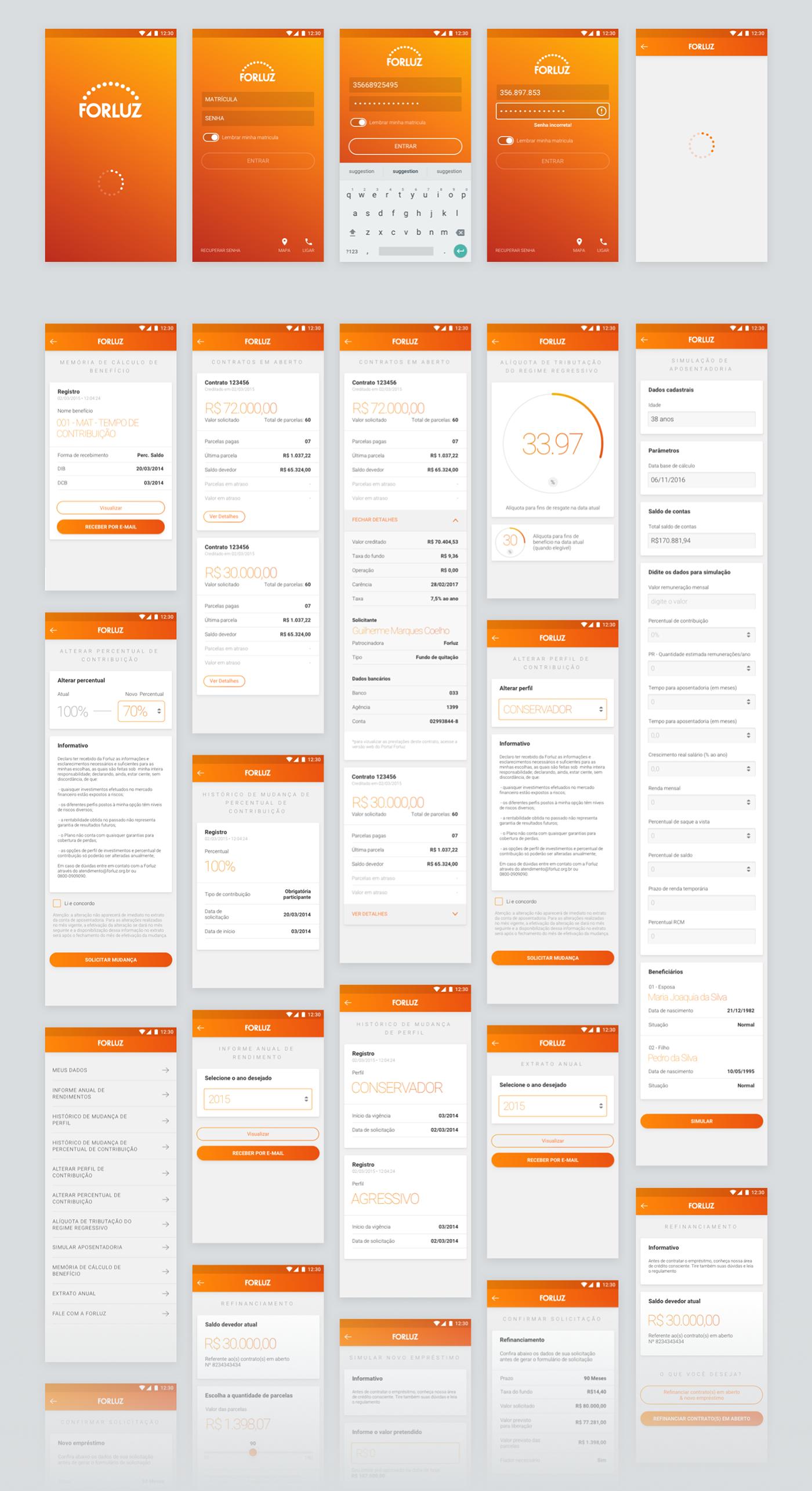 forluz app ios android finance