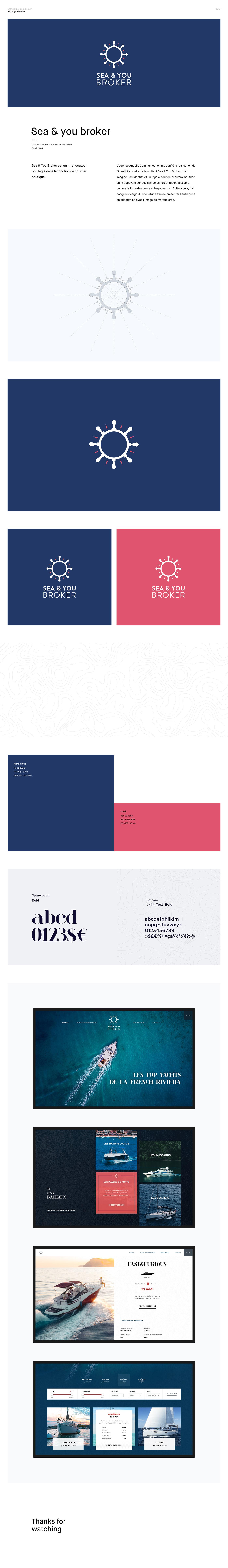 boat branding  identity logo ui design UX design Webdesign