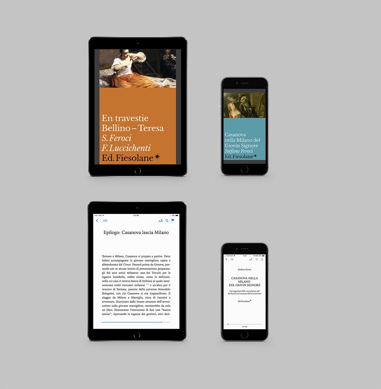 book series editorial design Casanova ebook cover typography   colors Collection