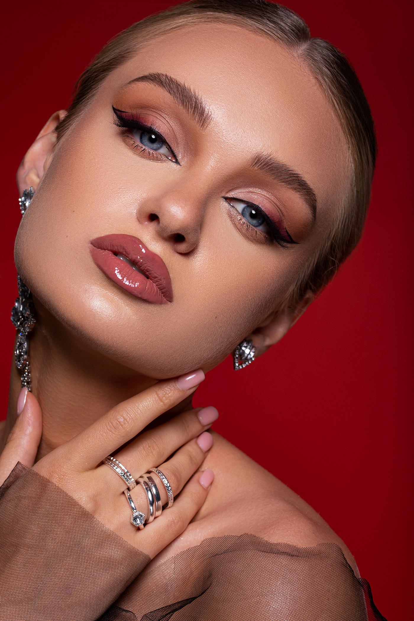 beauty Fashion  makeup moda retouch