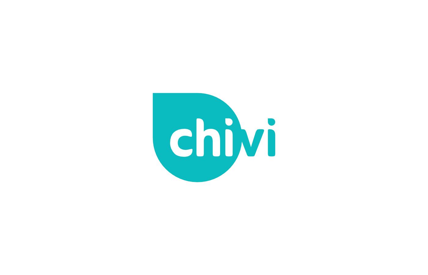 chivi Wellness logo branding  design CHI Health energy live Nature