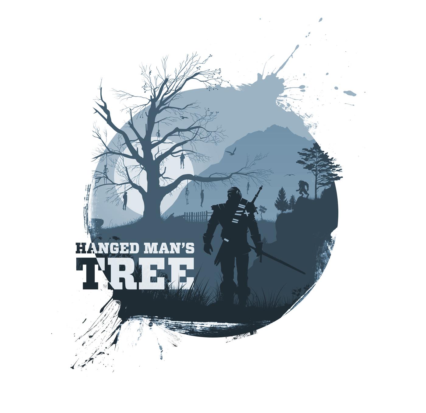 geralt witcher3 wild Hunt tshirt Gaming game ciri rpg