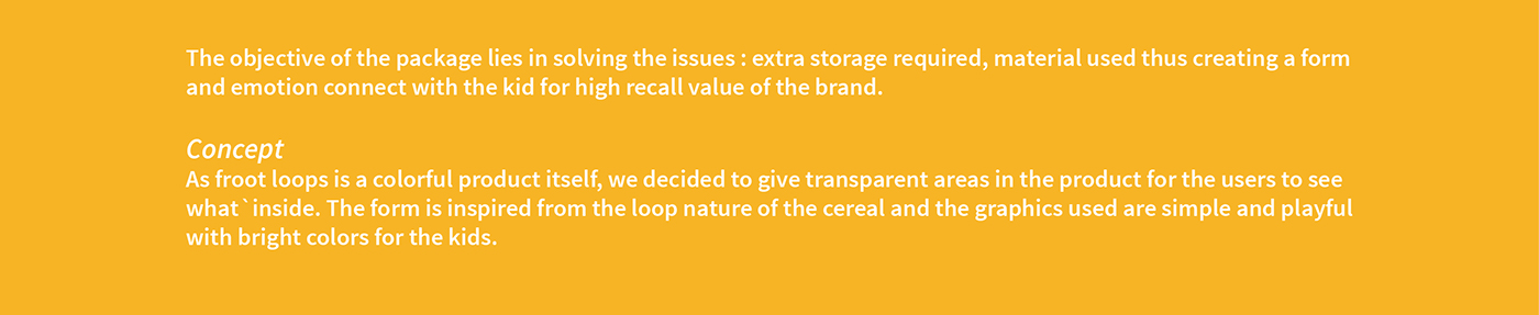 cereal box redesign surface graphics Froot Loops cereal packaging