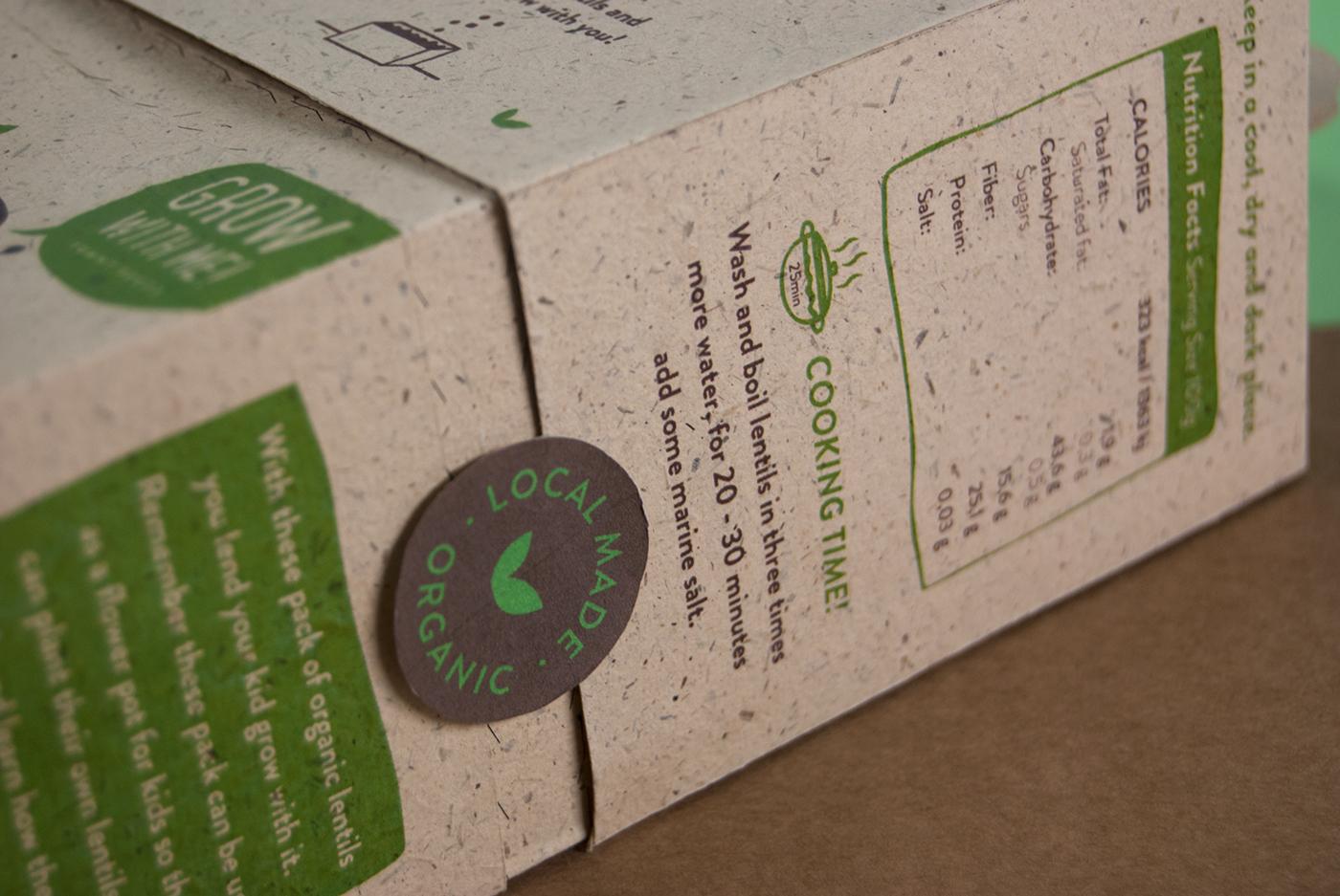 legumes ecopackaging recycle eco children kids elisava