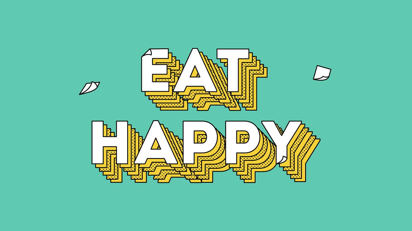 Eat Happy on Behance