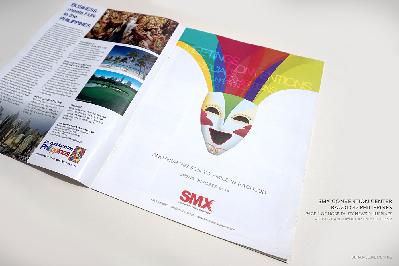 Opening Teaser Ad for SMX Convention Center Bacolod on Behance