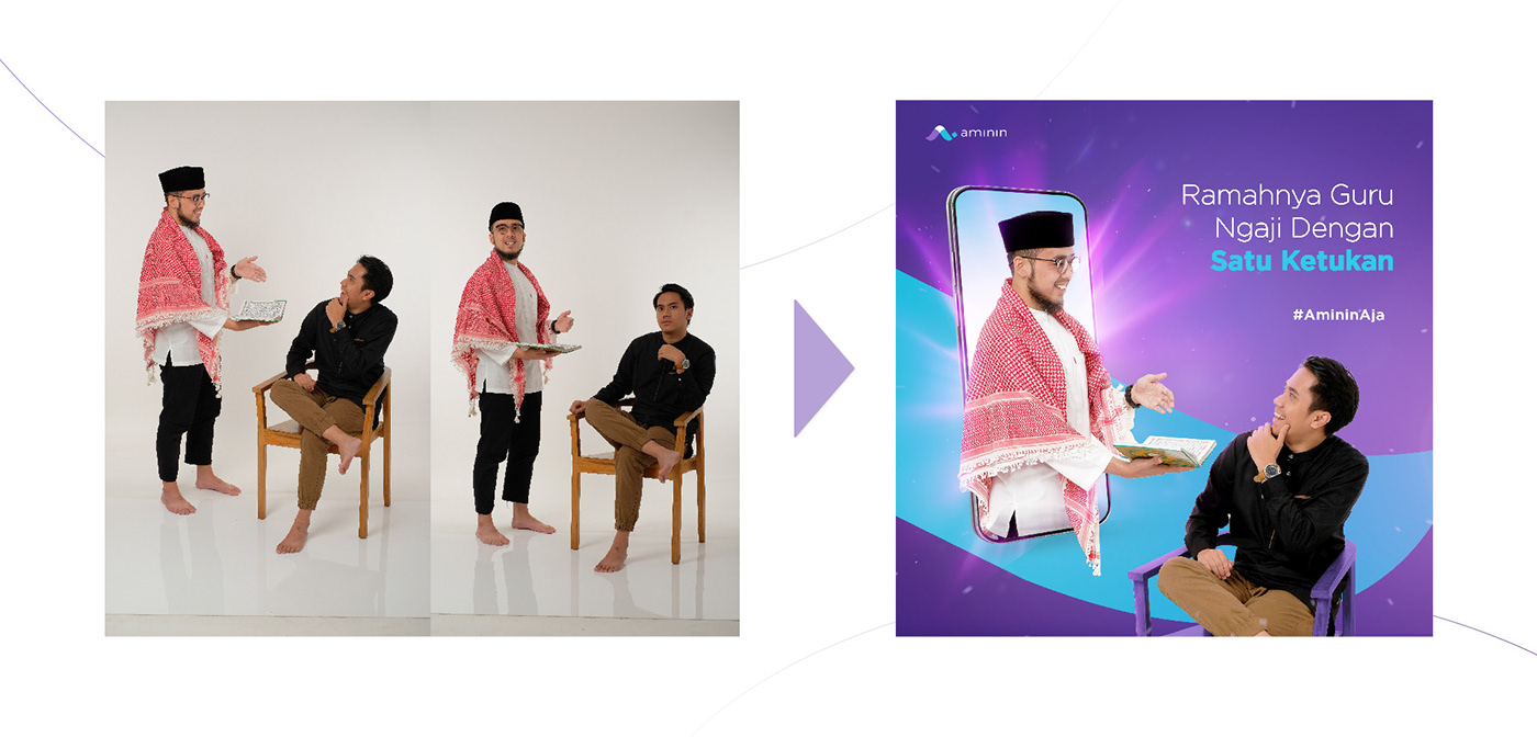 Advertising  branding  digital campaign digital marketing graphic design  instagram islam motion graphic Photography  social media