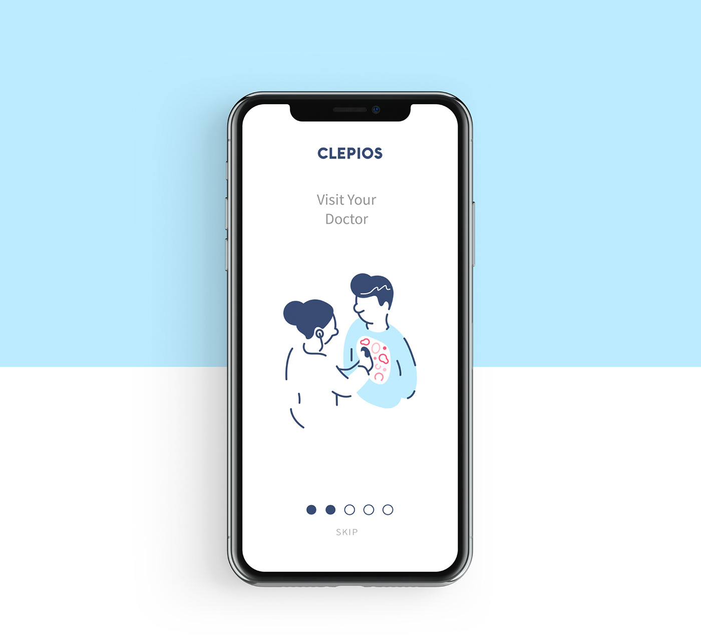 Health healthcare doctor pharmacy lab app vector phone Character Icon