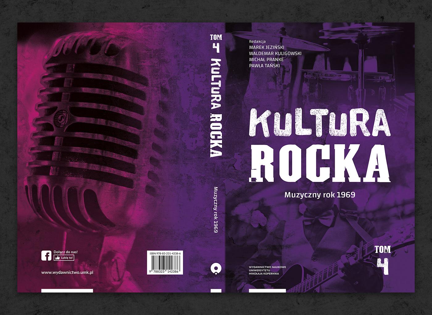 book cover culture książka music okładka okładka książki publishing series rock series