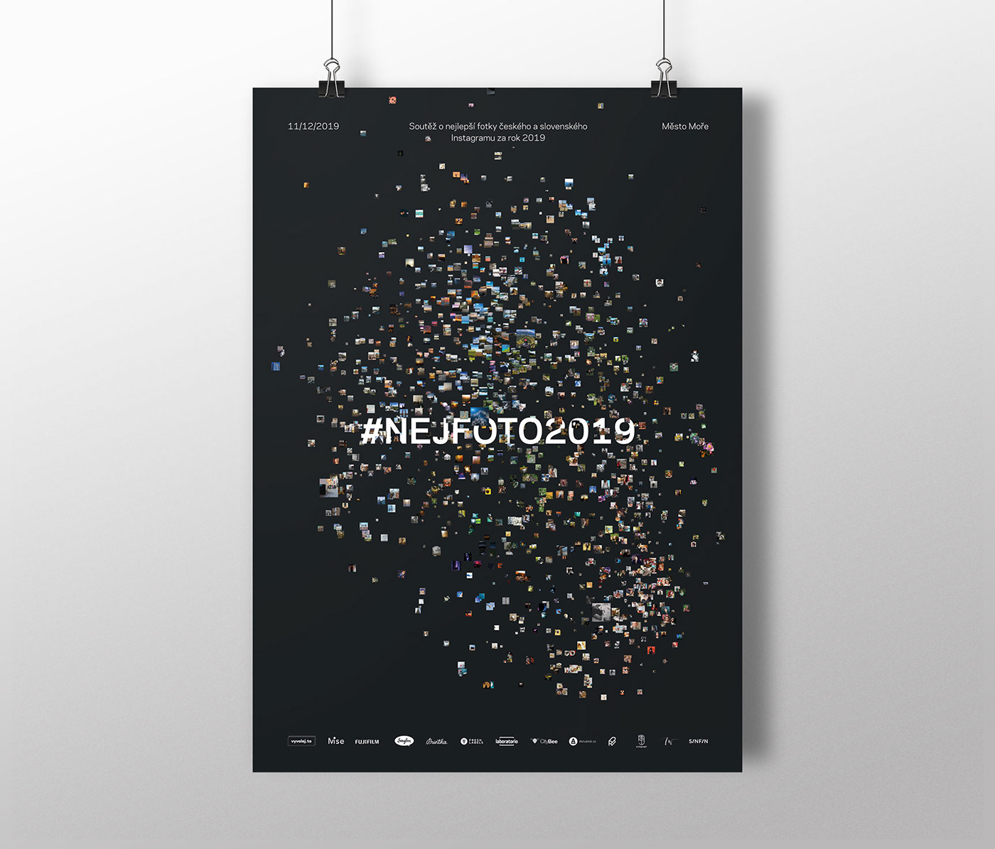 generative design Website t-sne poster