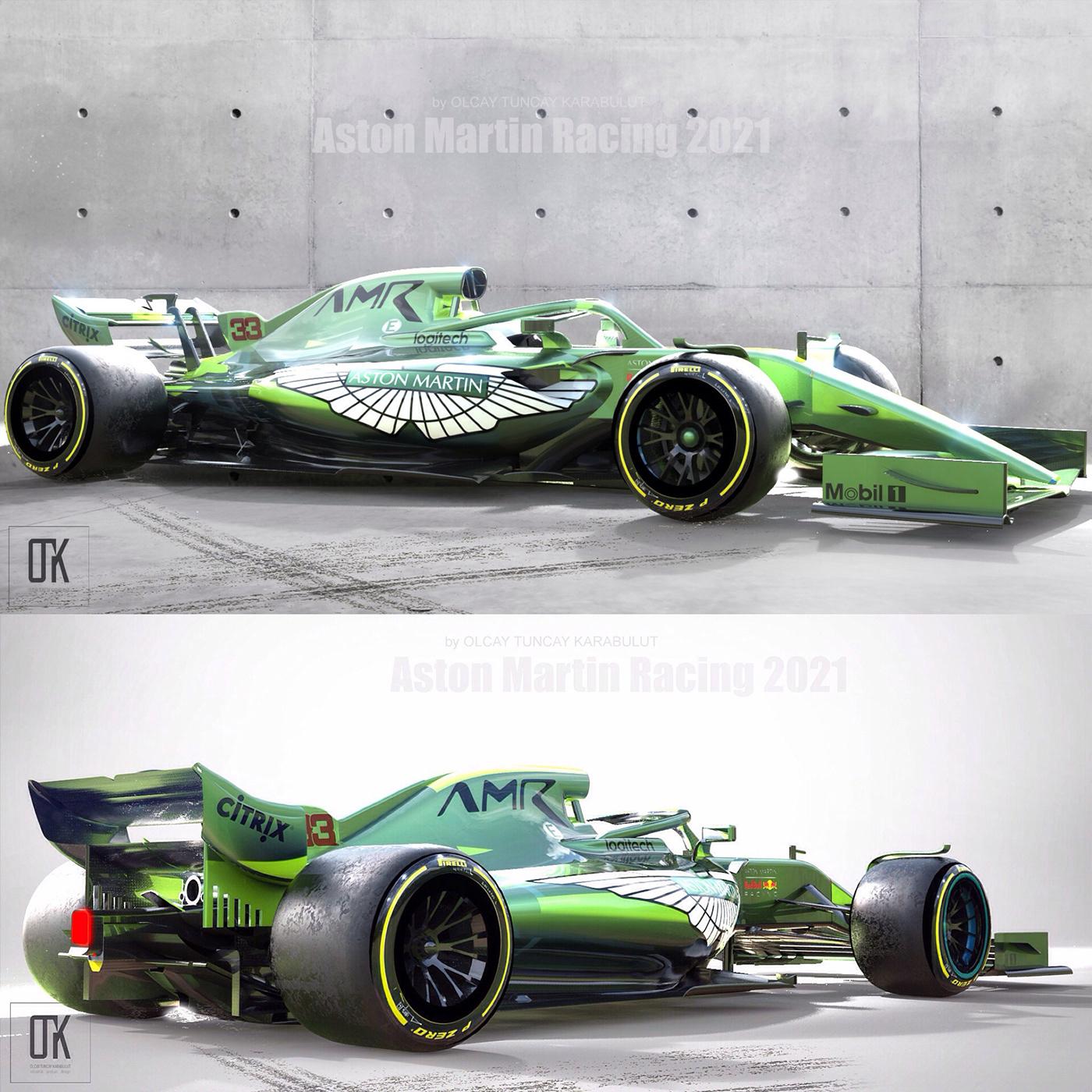 Aston Martin Racing 2021 Concept On Behance