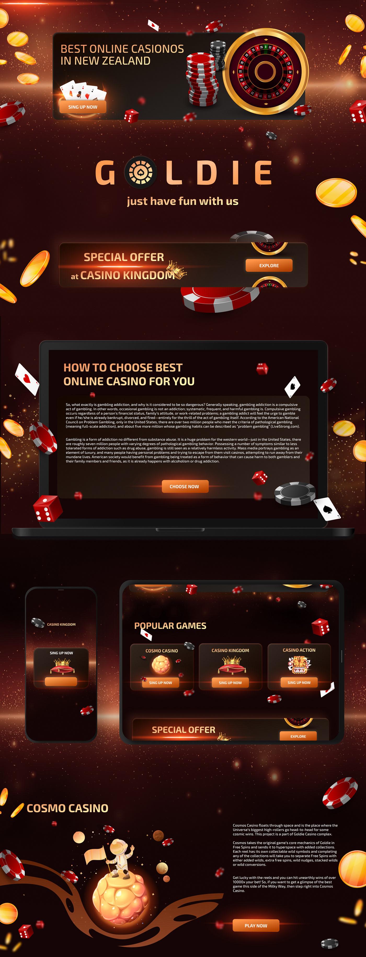 Casino Websites Design