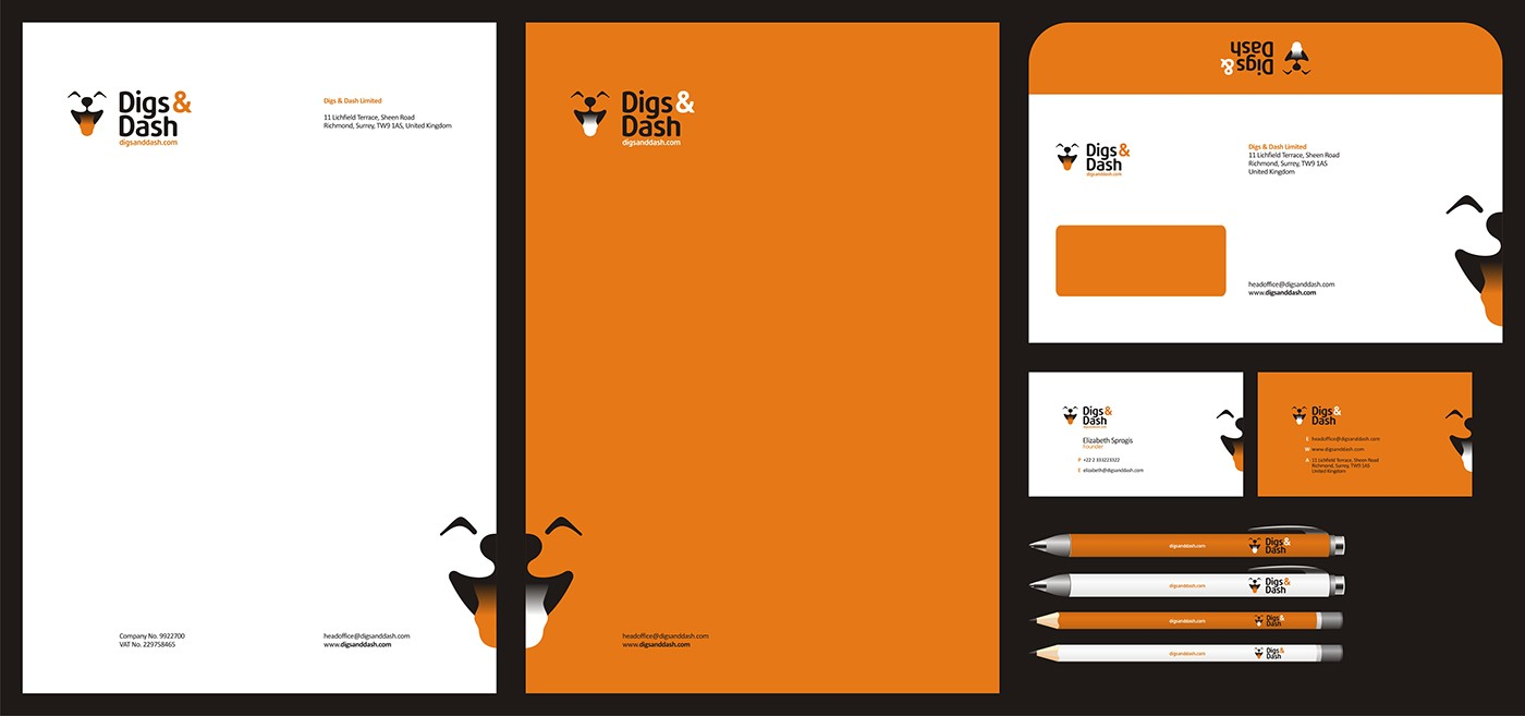 Stationery Identity design projects on Behance