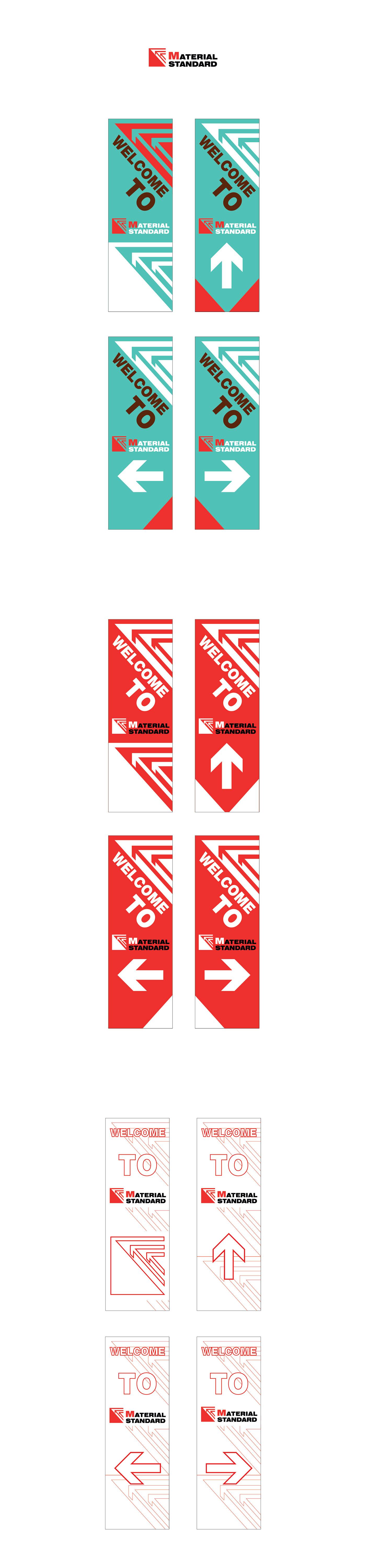高質感的17張歡迎海報範本設計欣賞