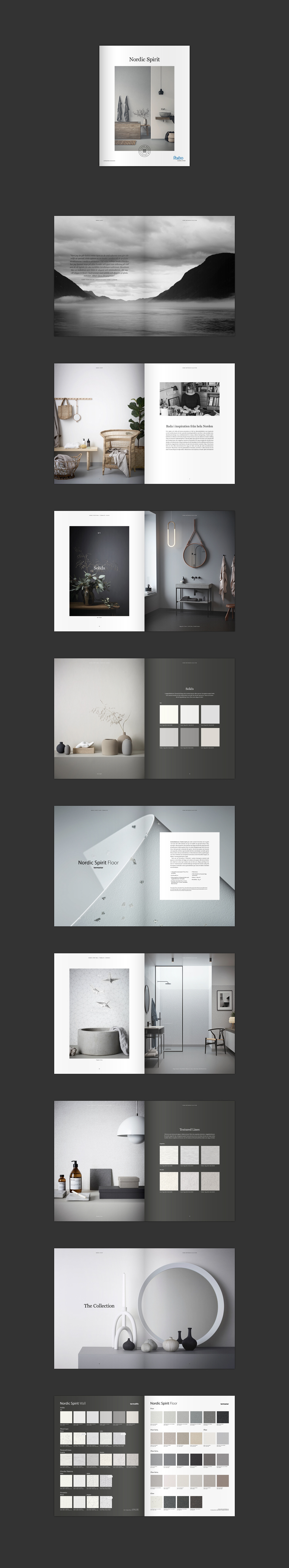 Interior,wetroom,nordic,spirit,design,grey,black and white,Forbo,minimalistic,simplicity