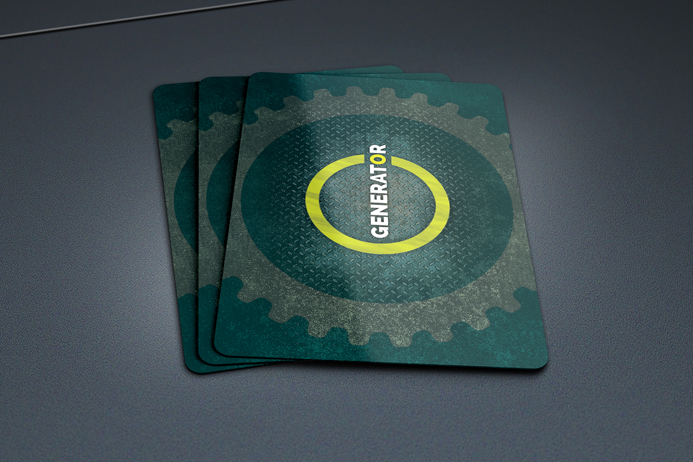 GENERATOR™ - Concept Card Game on Behance