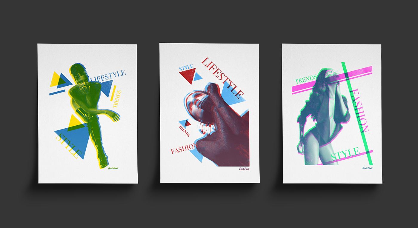 screenprint print vogue poster Competition press
