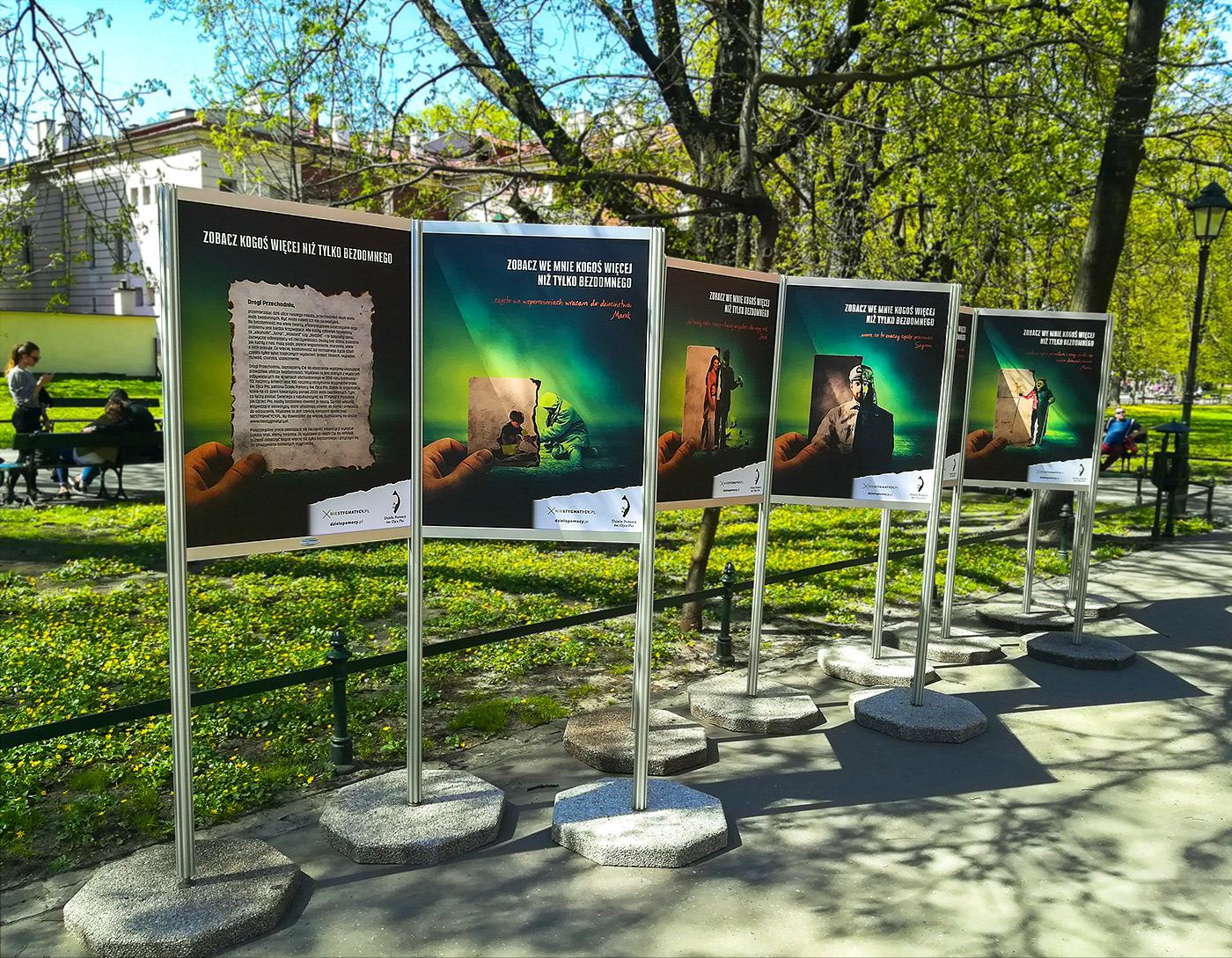 bezdomny BEZDOMNI homeless wystawa Exhibition  krakow stereotyp pomoc help pio