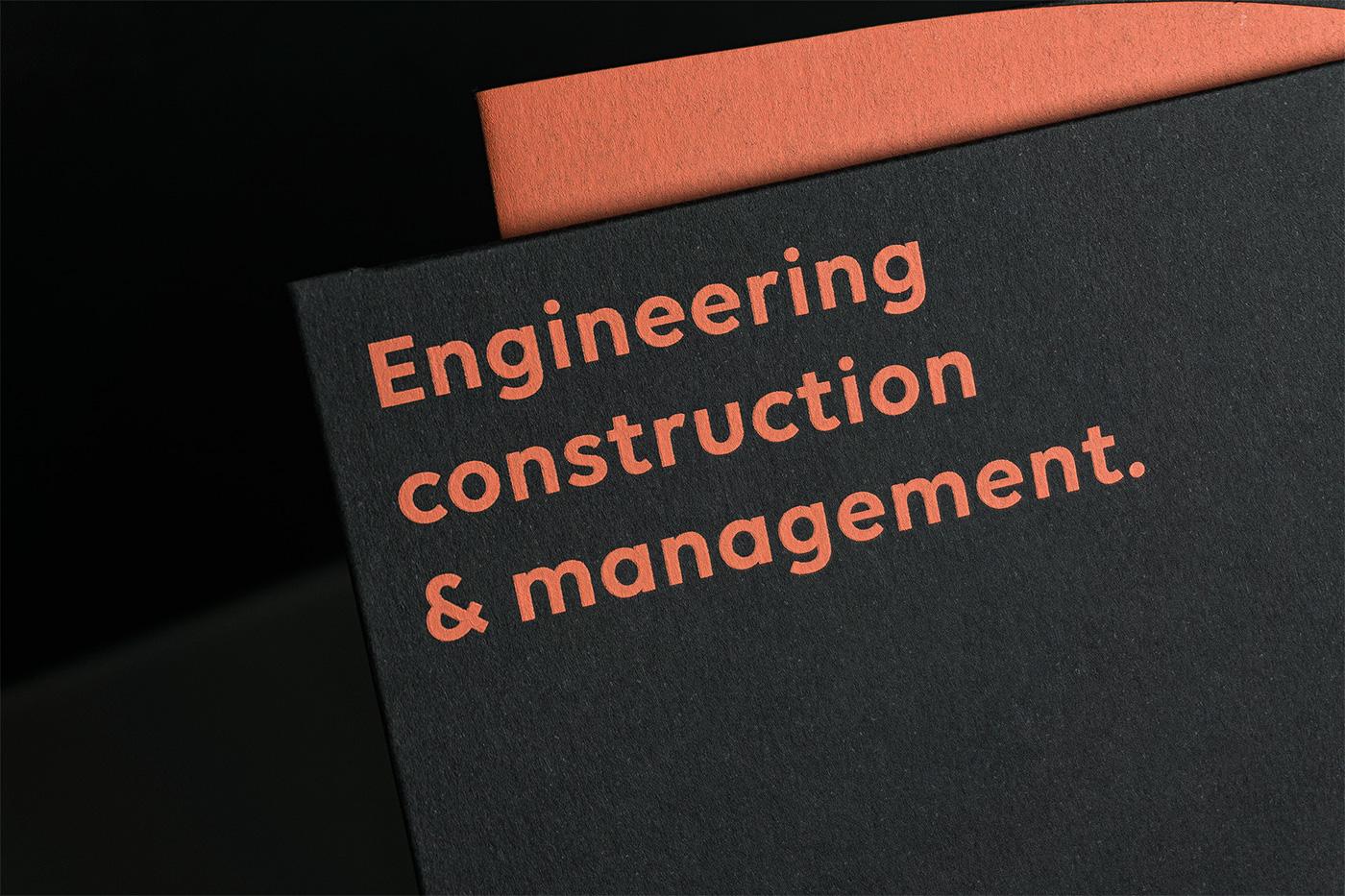 Engineering  management construction angelosbotsis visual identity Civil Engineer athens Greece visuals
