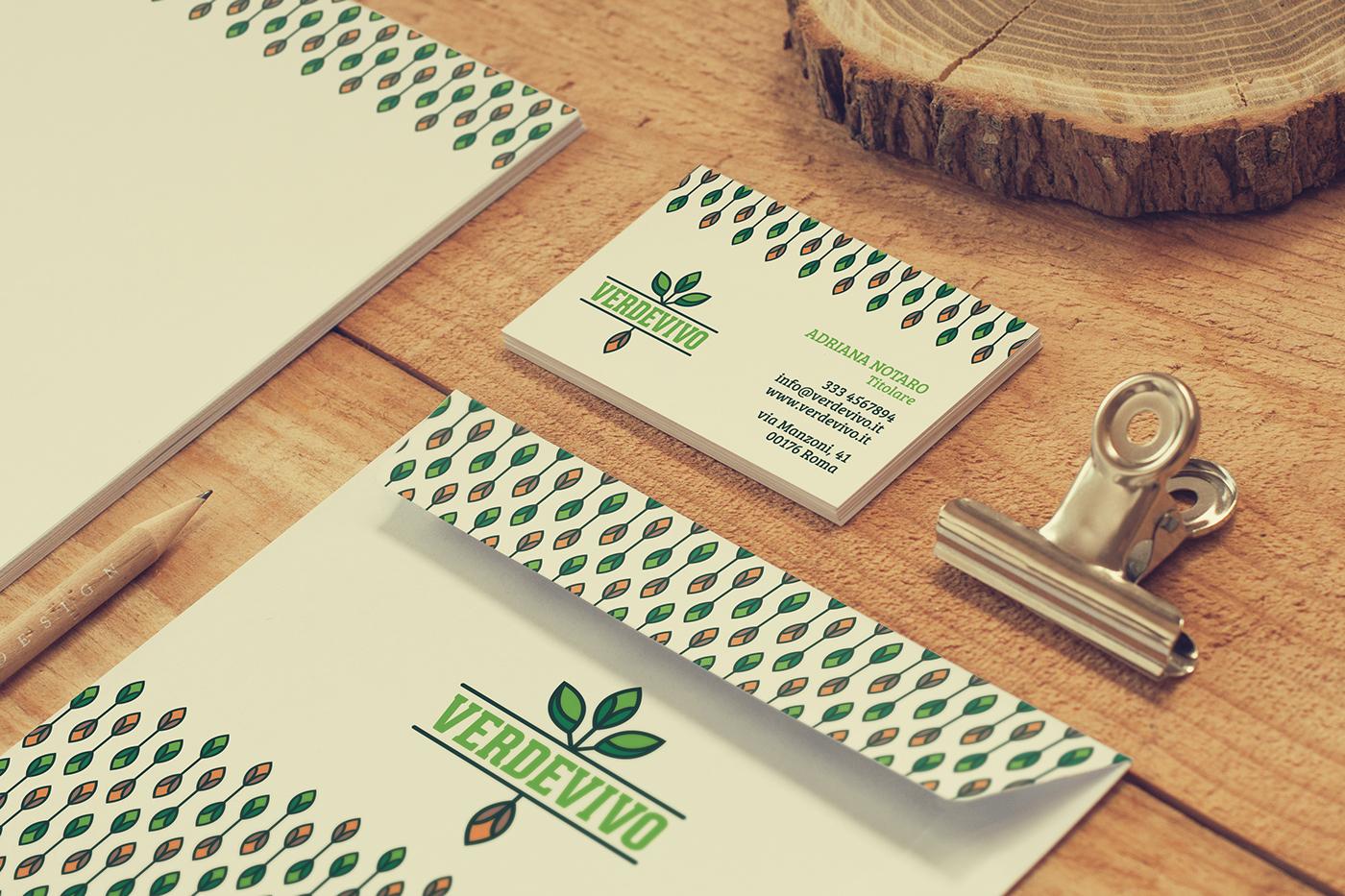 branding  brand identity Corporate Identity logo graphic design  gardening Plant