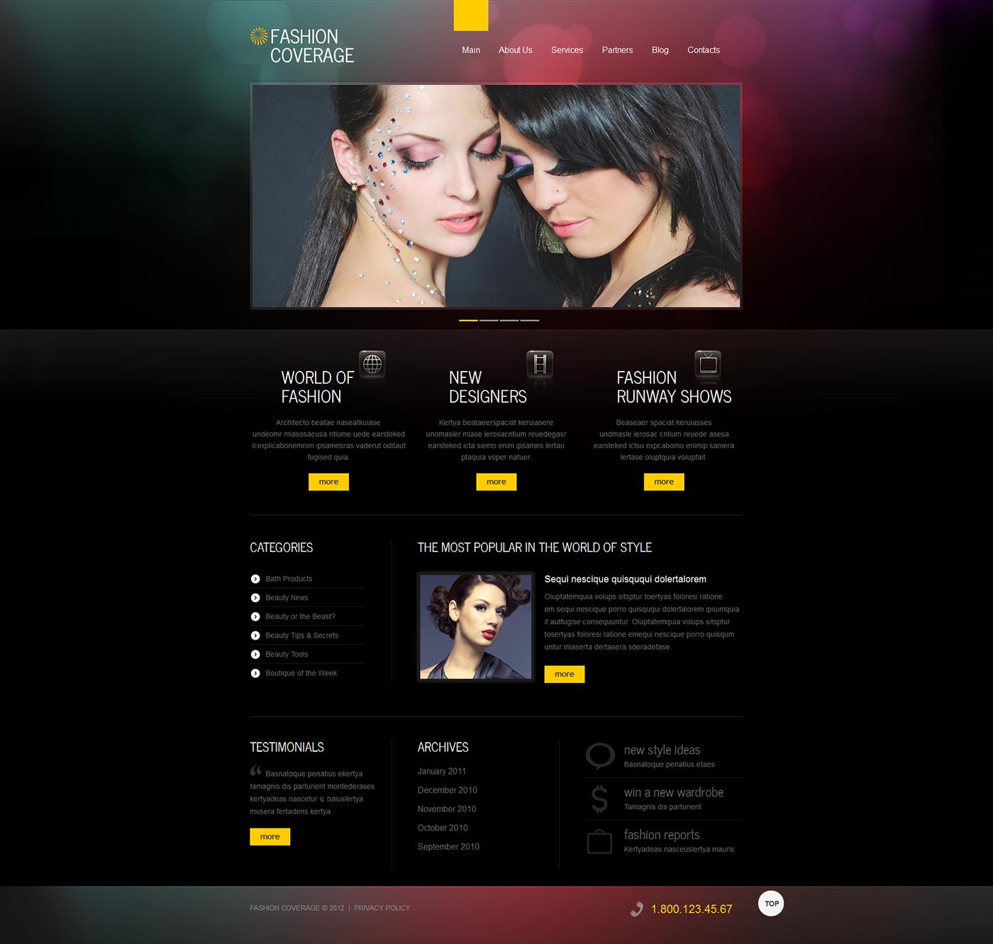 NewsLog - Responsive Magazine Style Blogger Template - Way Fashion magazine style blogger template