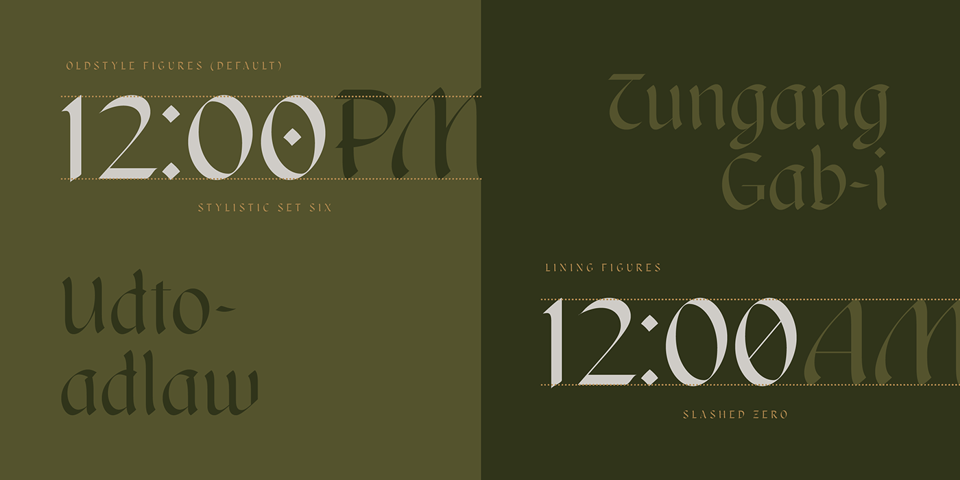 Blackletter calligraphic Display filipino font Typeface typography