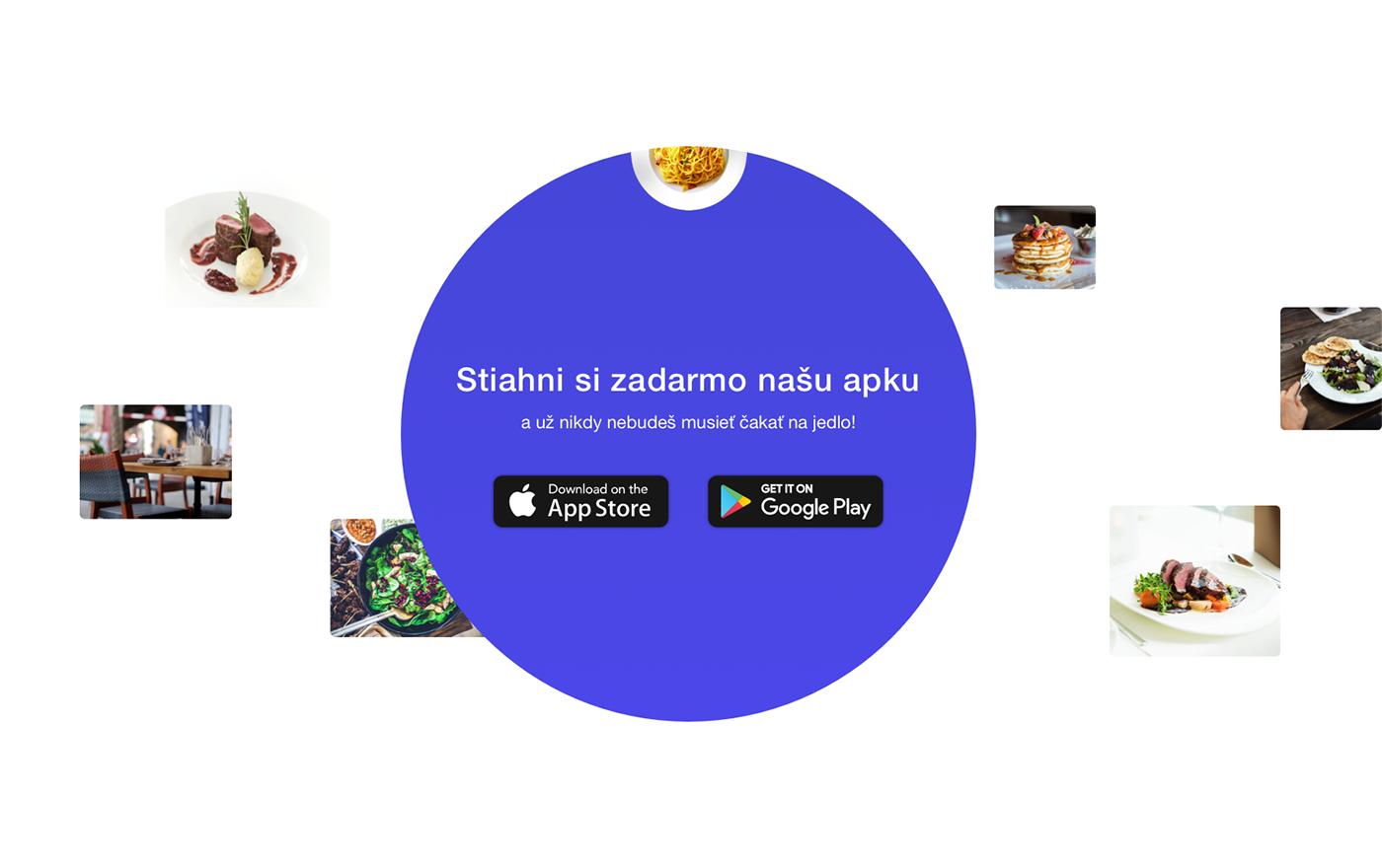 pre-pare Food  Order restaurants venues Slovak