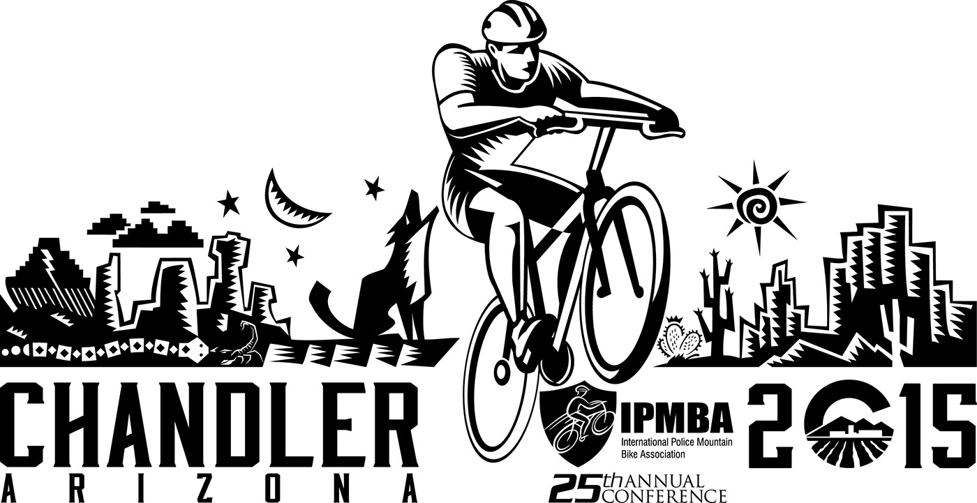 International police mountain bike ass