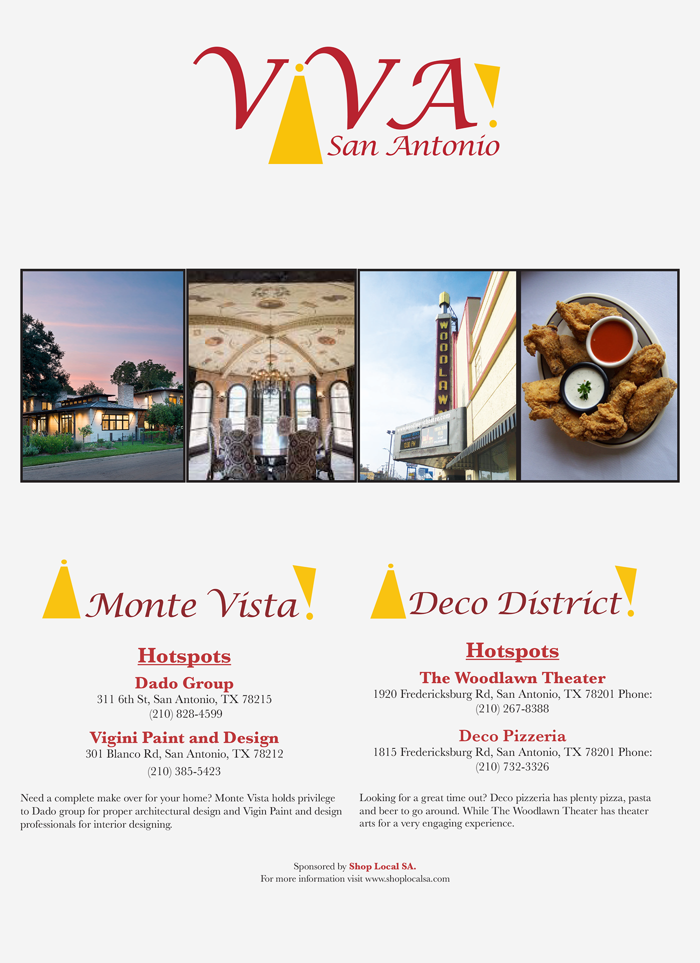 Viva San Antonio On Behance