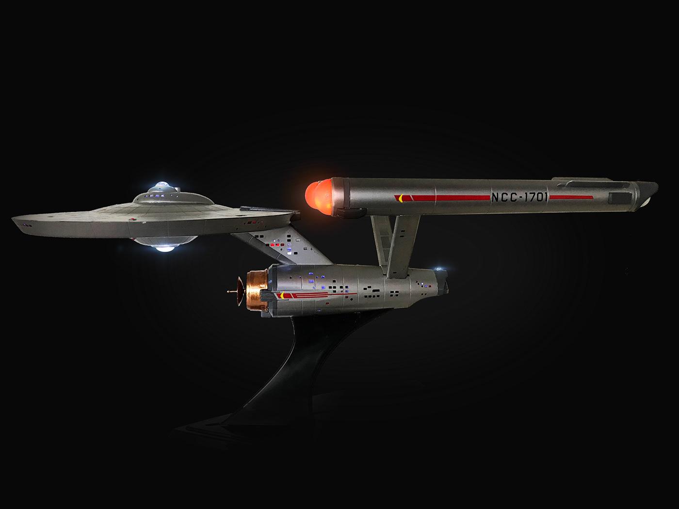 Star Trek,scale model,Original TV Series,U.S.S Enterprise