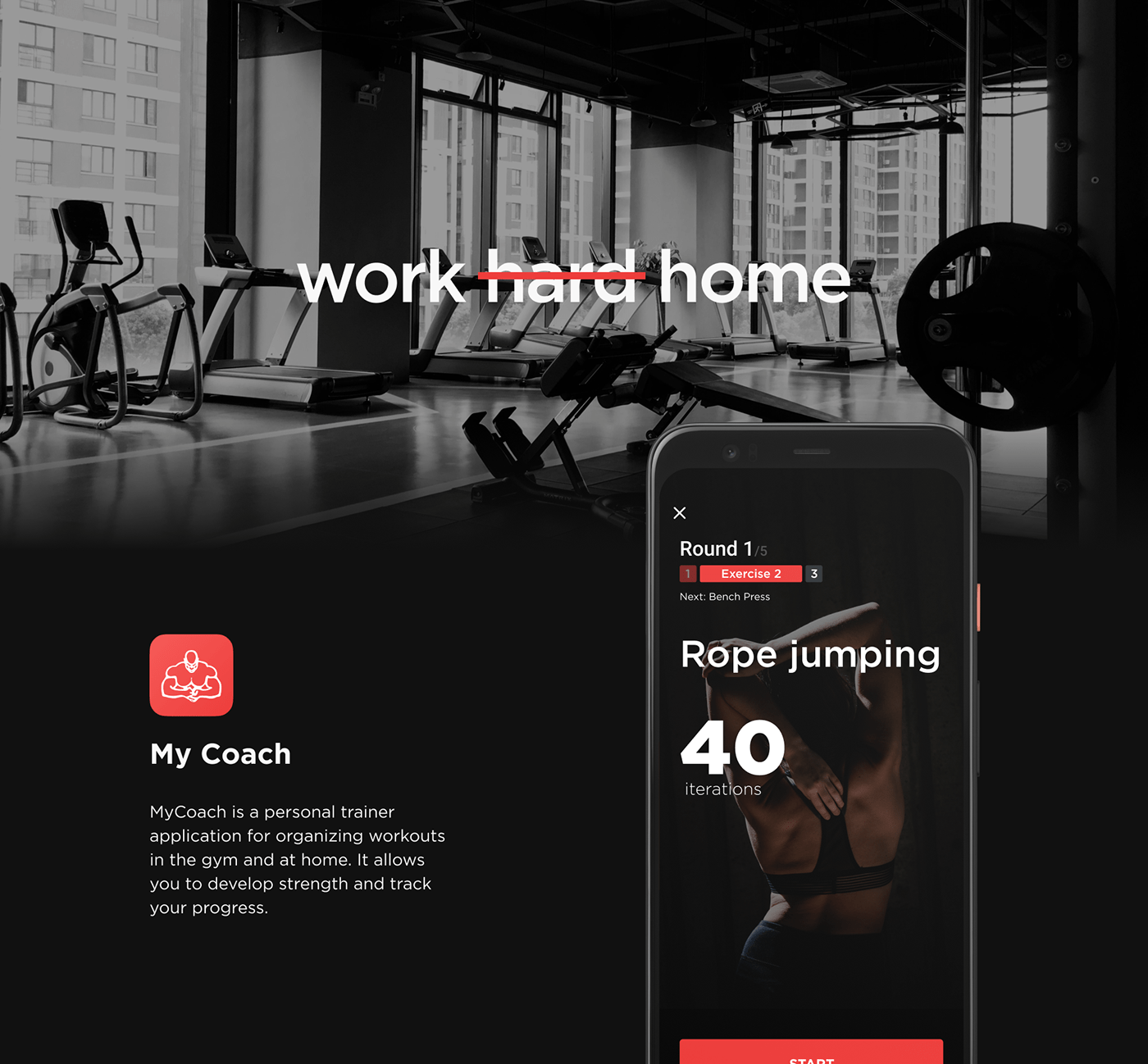 animation  app app design sports Sports App UI ux training Training App