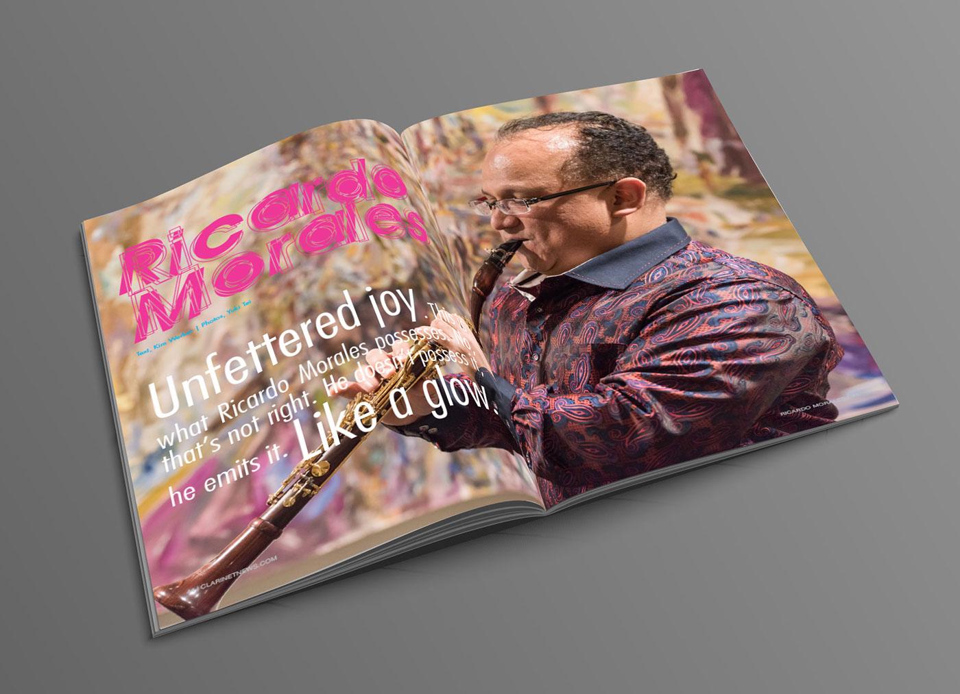 Magazine design print