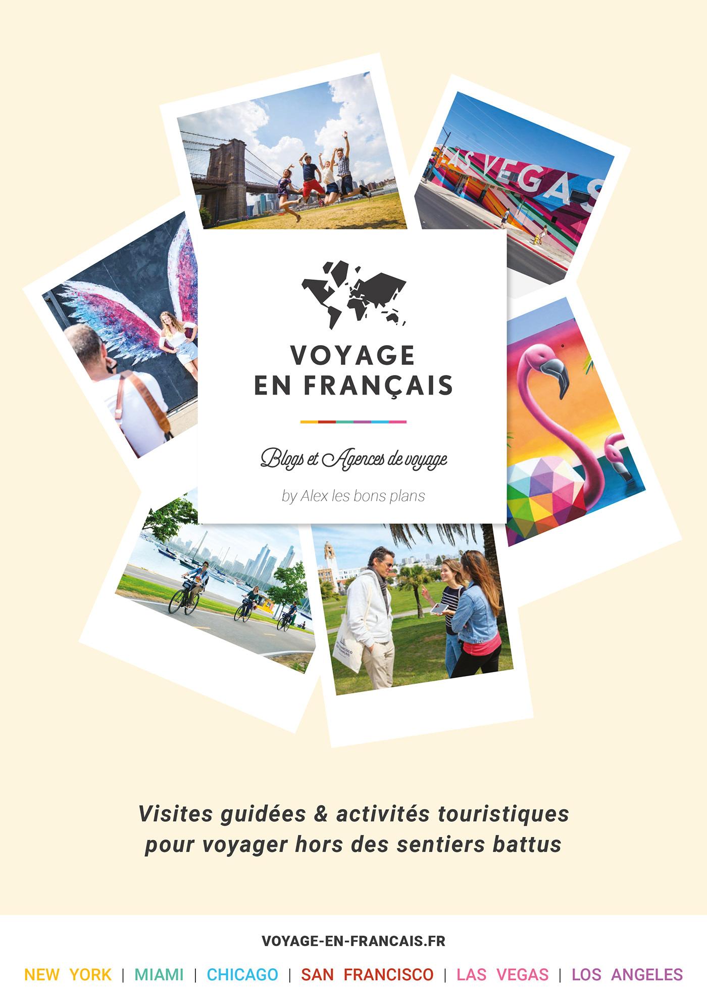brochure graphisme mise en page Tourisme voyage