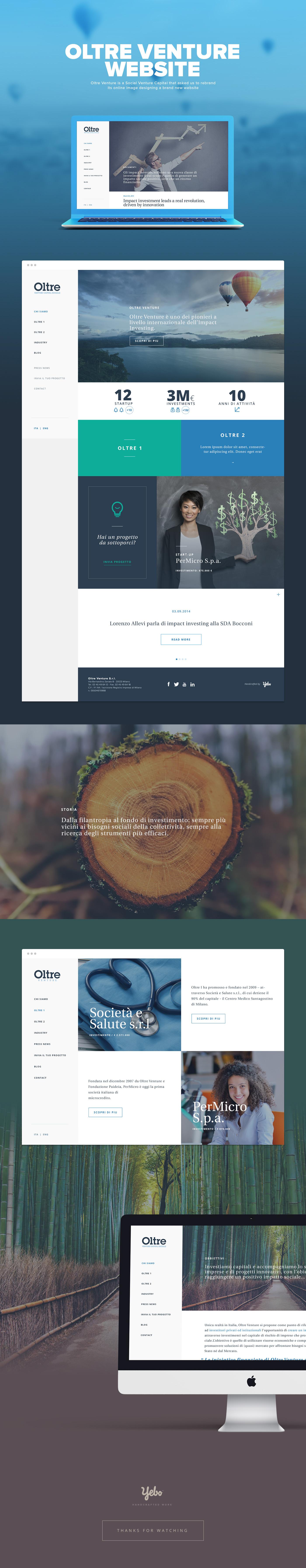 Oltre Venture Website