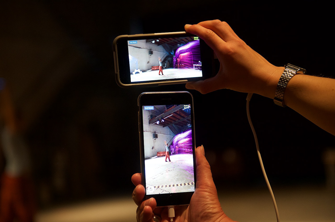 augmented reality DANCE   unity3D arkit Arcore performance art participative immersive multiplayer