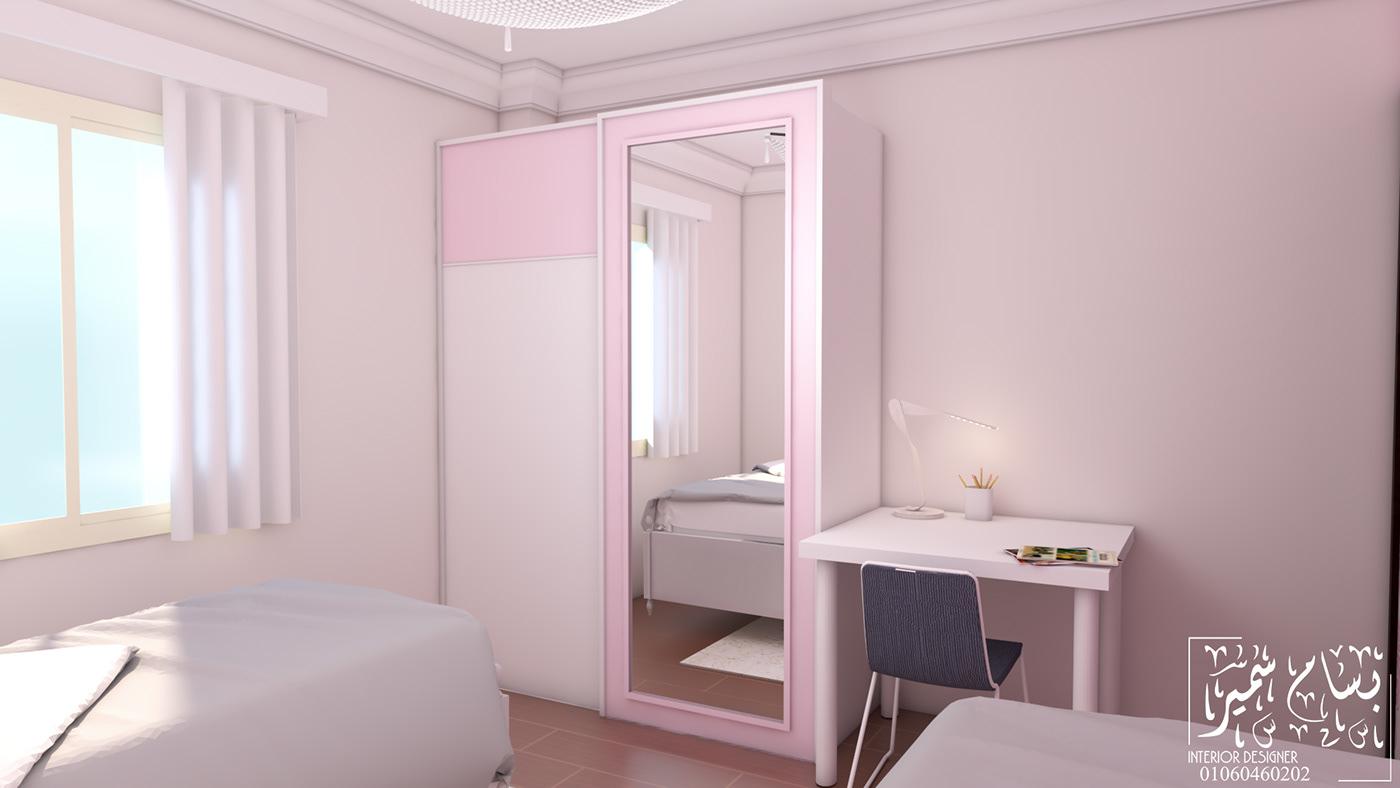 有設計感的18個粉紅色房間欣賞