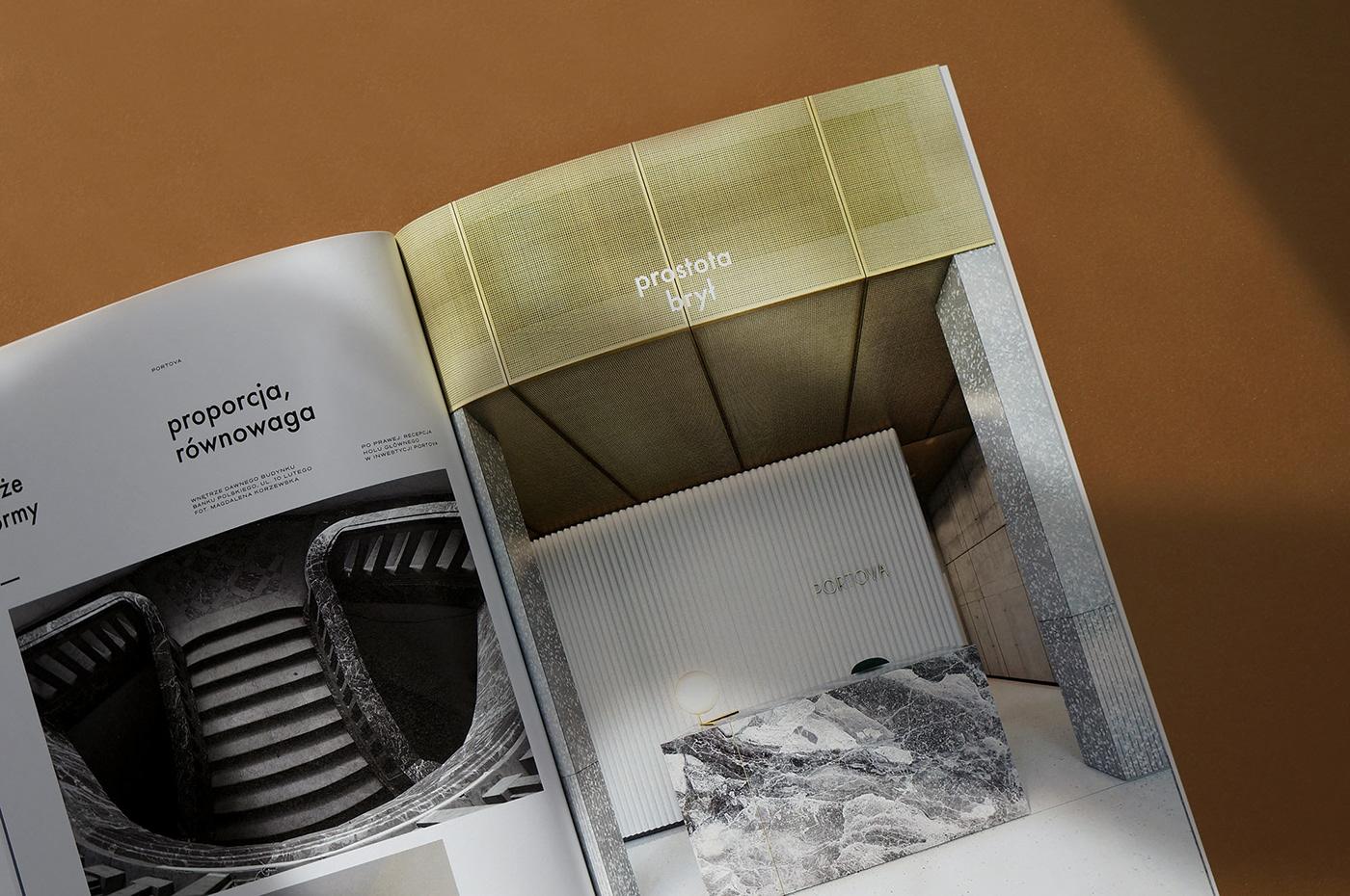 modernism gdynia poland editorial minimal simplicity wedzicka Catalogue editorialdesign Minimalism