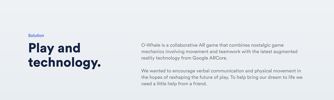 AR 3D cinema 4d Whale adobeawards
