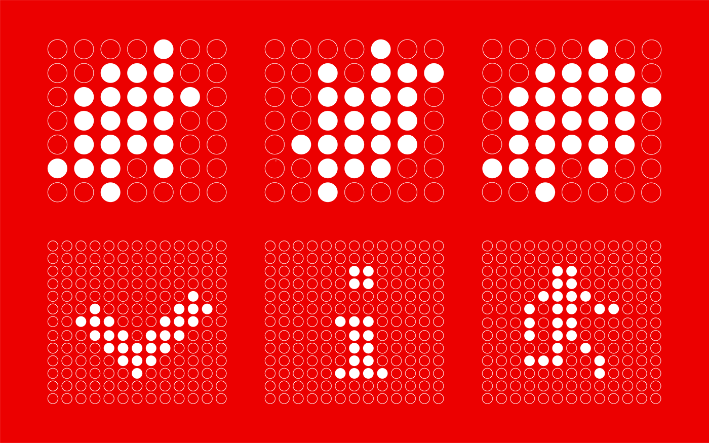 Image may contain: screenshot, pattern and dot