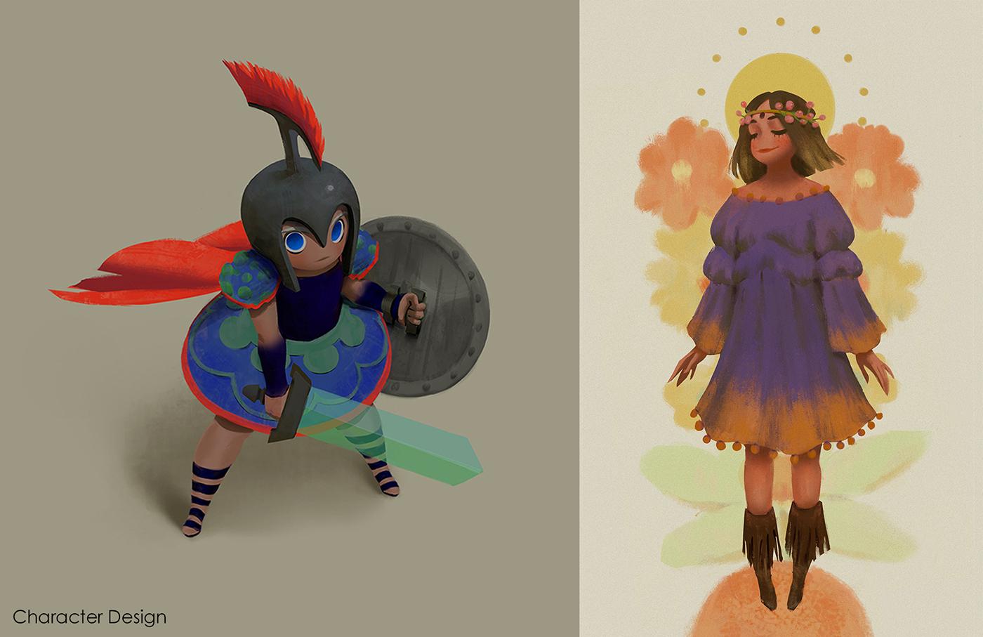 Good Character Design Portfolio : Visual development portfolio on behance