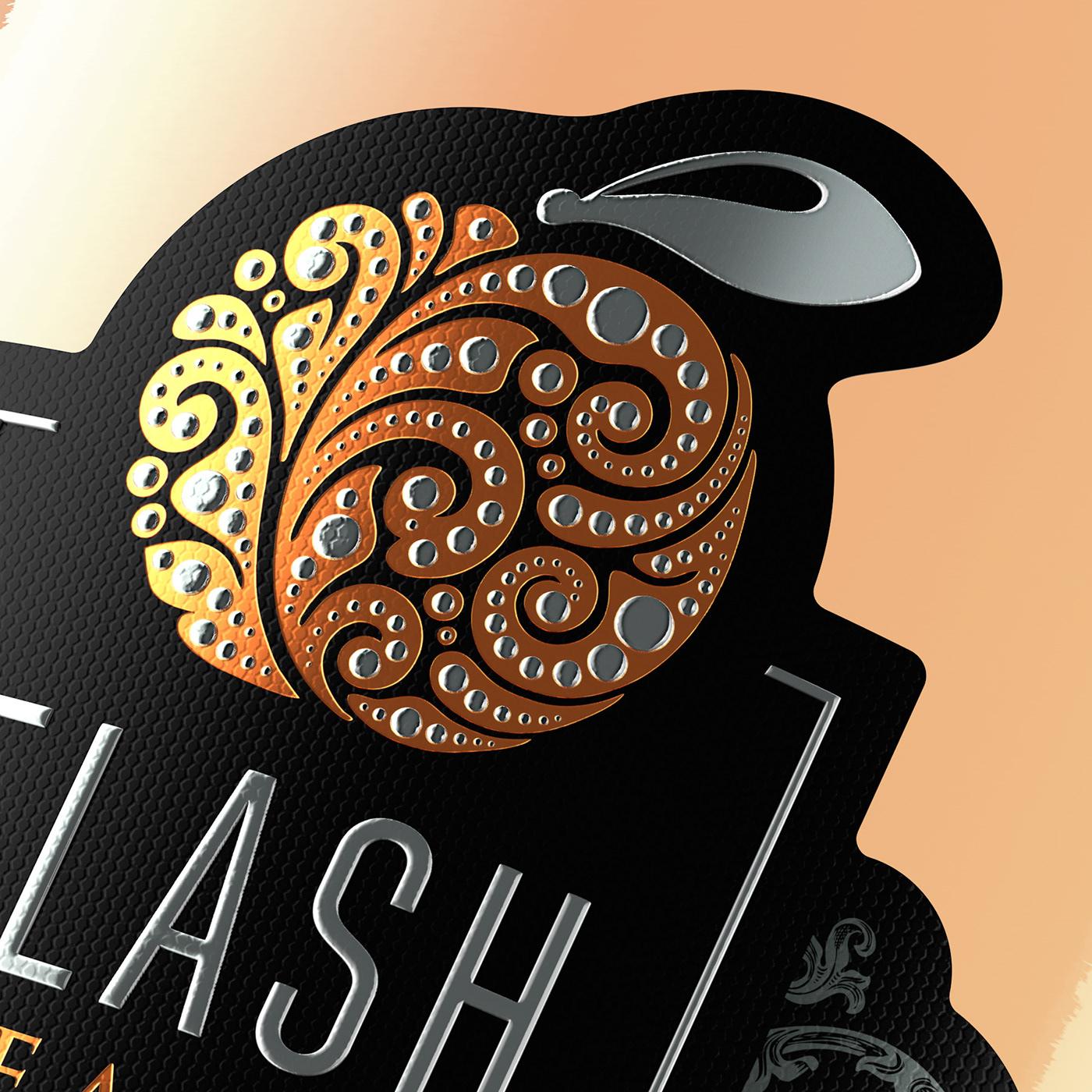 Flash sparkling italian design Packaging Label agency shumilovedesign shumi love design valerii sumilov