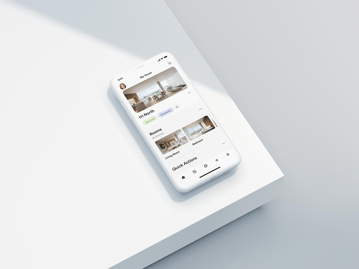 app design ios Mobile app