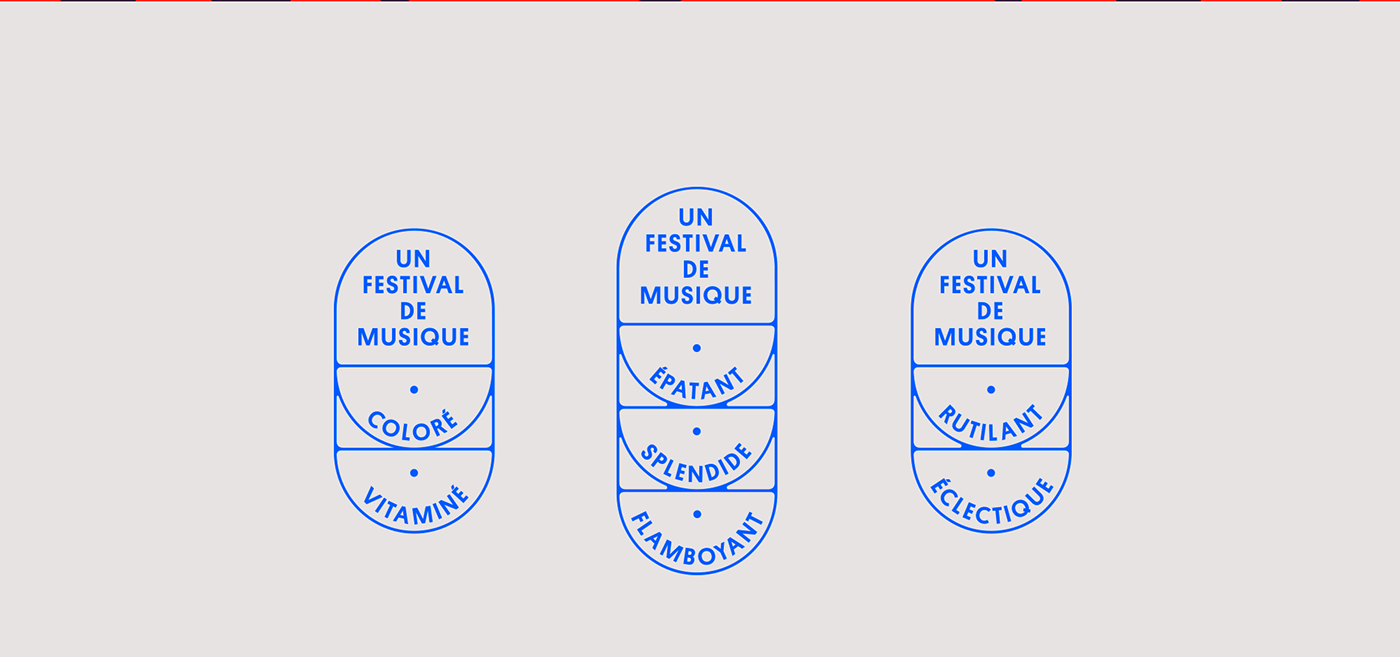 design ILLUSTRATION  festival color music typography   poster art direction
